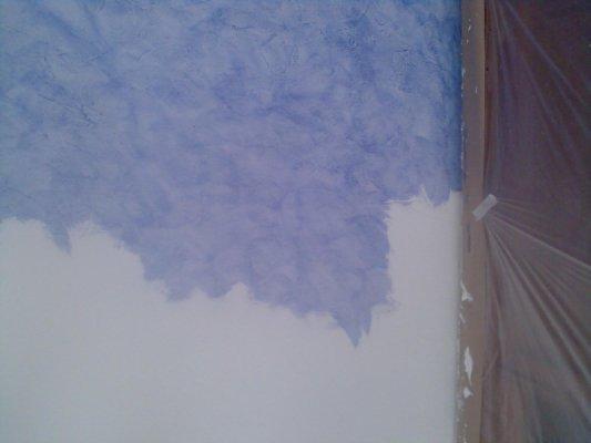 Pintura Decorativa Brisa del Tiempo Azul - Pinturas Urbano