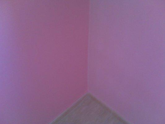 Habitacion Plastico color Rosa - Pinturas Urbano