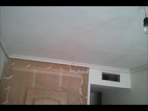 moldura de escayola - Dormitorio 3