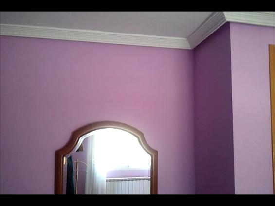 Dormitorio Plastico color malva - Pinturas Urbano