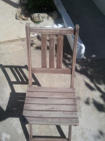 Estado de las sillas
