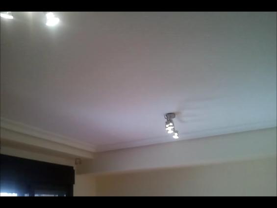 Pintar techos a rodillo 18