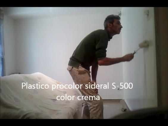 plastico sideral S-500 color crema 10