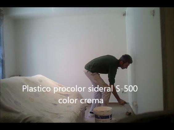 plastico sideral S-500 color crema 7