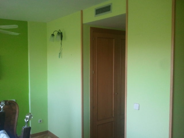 Dormitorio Verde oscuro y verde claro (7)